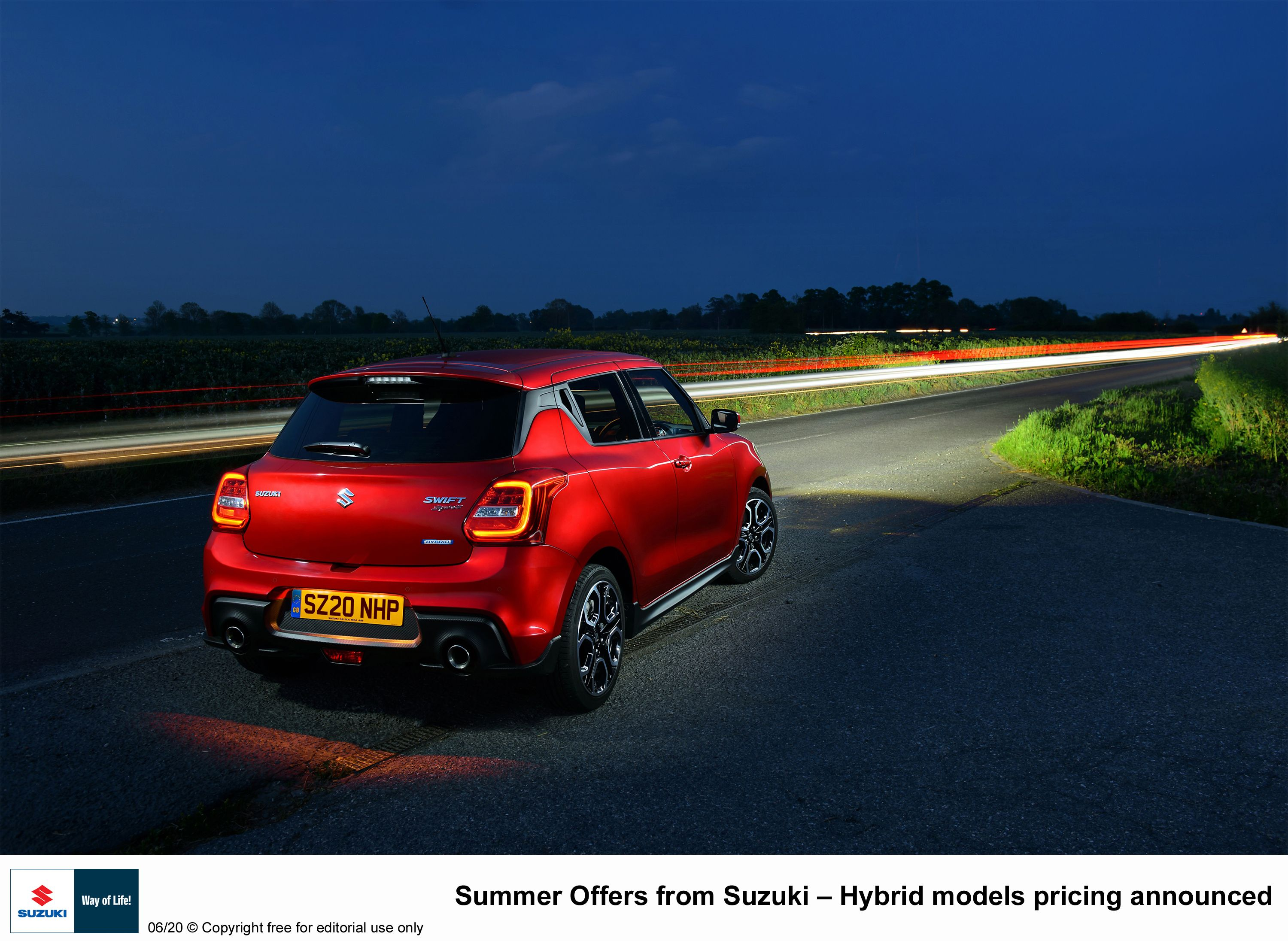 Summer Offers From Suzuki