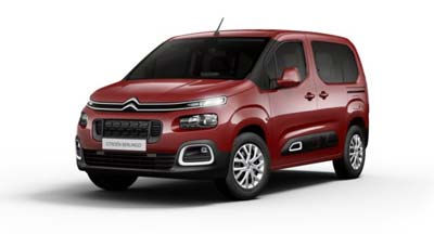 Citroen Berlingo Multispace - Available In Passion Red