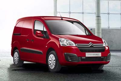 Citroen Vans Berlingo - Comfortable Cabin Space