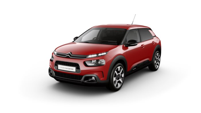 Citroen C4 Cactus Hatch - Available In Sport Red