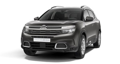 Citroen C5 Aircross Suv - Available In Platinum Grey