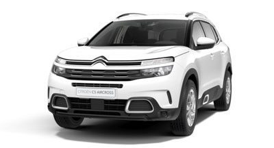 Citroen C5 Aircross Suv - Available In Polar White