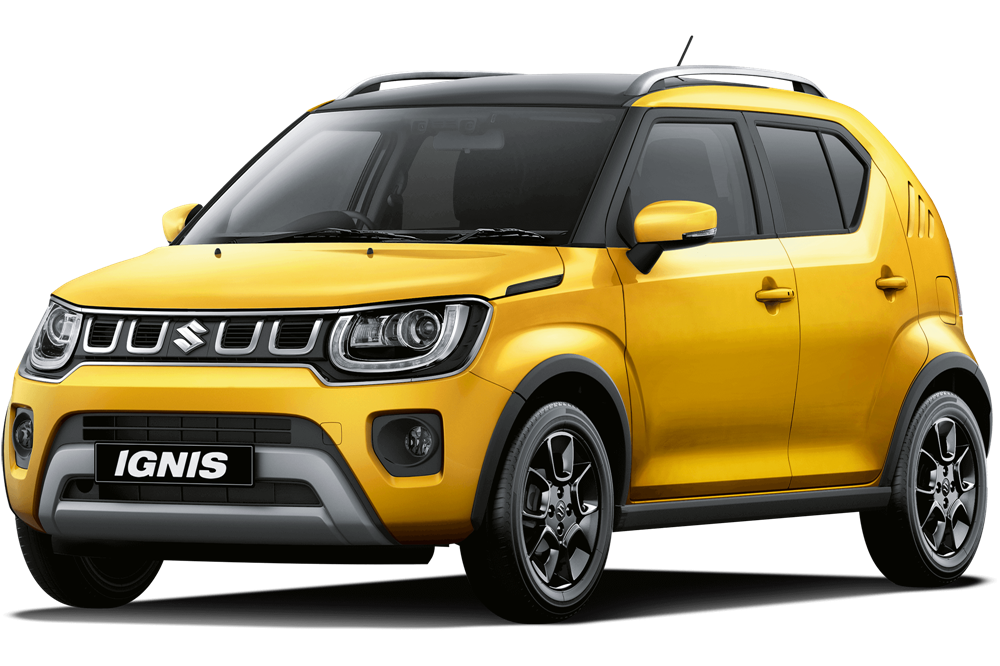 Suzuki Ignis - Rush Yellow Metallic - 2 Tone